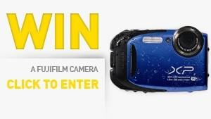 Win a Waterproof Camera video