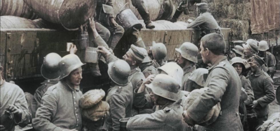 """מלה""""ע ה-1: סרט מלחמה - גיהינום"""