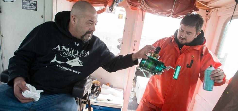 דייגי הטונה: צפון ודרום - אייס טונה