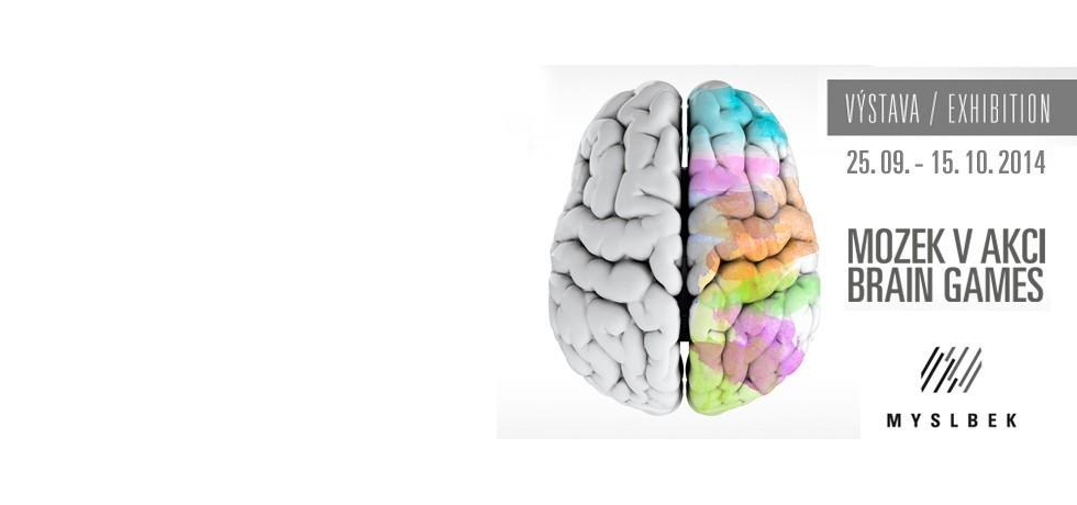 Výstava Mozek v akci