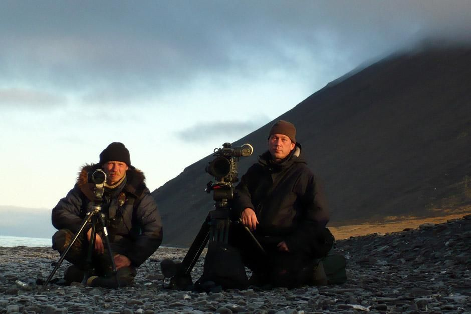 SIBERIA, EAST RUSSIA - Uwe Anders (right) and his assistant Anatoly Ryzhow spent three months on ... [Dagens foto - maj 2012]