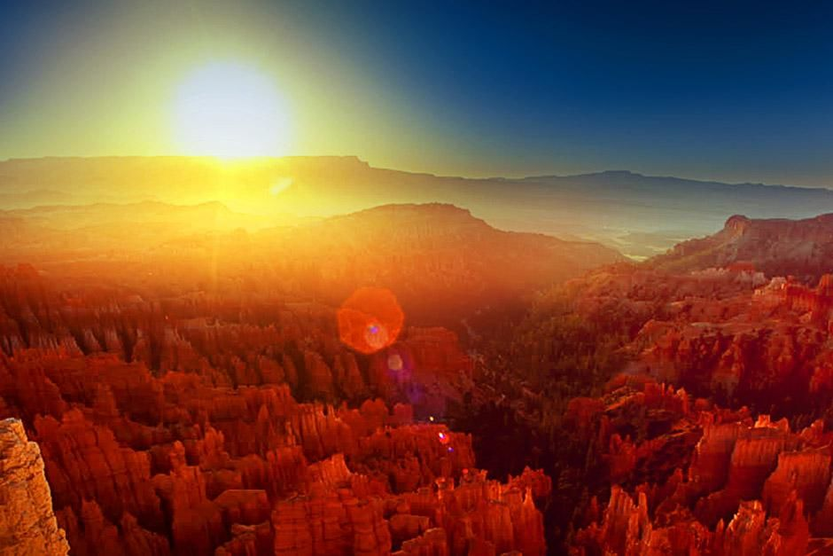 Colorado Plateau, VS. De foto komt uit Untamed Americas. [Photo of the day - juni 2012]