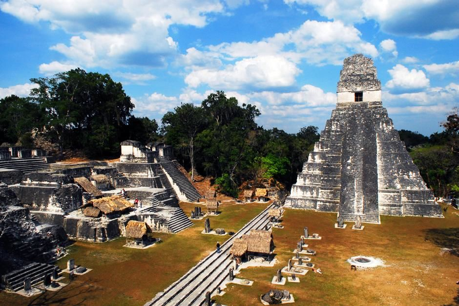Tikal, Guatemala: de Tikal-tempel is een van de grootste archeologische gebieden en stedelijke ce... [FOTO VAN DE DAG - september 2012]