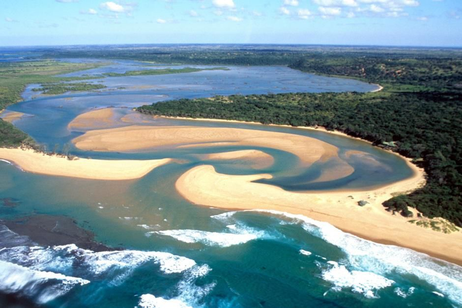 Aerial view of Kosi Bay, South Africa. This image is from Fit for the Wild. [Photo of the day - October, 2012]