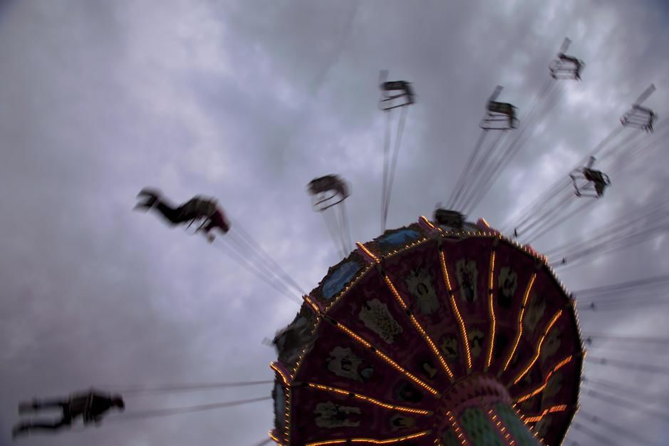 A wave swinger ride at the New Mexico State Fair, which was bourne out of the first New Mexico Ag... [Foto des Tages - Oktober 2011]