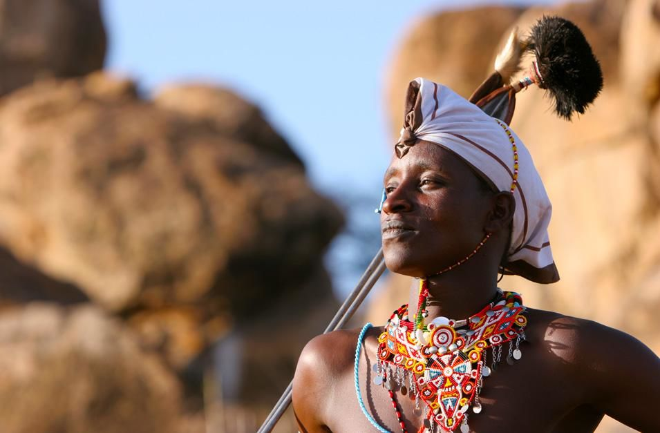 Kenya: Boni, a Maasai warrior. This image is from Warrior Road Trip. [Photo of the day - نوامبر 2012]