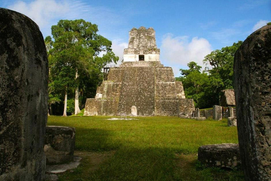Tikal in Guatemala. This image is from Mayan Apocalypse. [Photo of the day - دسامبر 2012]
