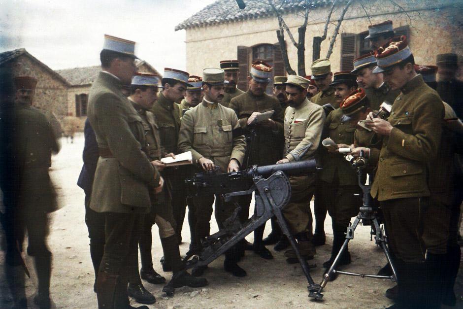Der Erste Weltkrieg, an dessen Ende zehn Millionen tote Armeeangehörige und sieben Millionen tot... [Foto des Tages - Dezember 2012]
