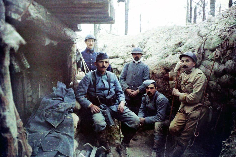 """Der Erste Weltkrieg. Das Bild stammt aus """"14-18: Die Welt am Abgrund"""". [Foto des Tages - Dezember 2012]"""