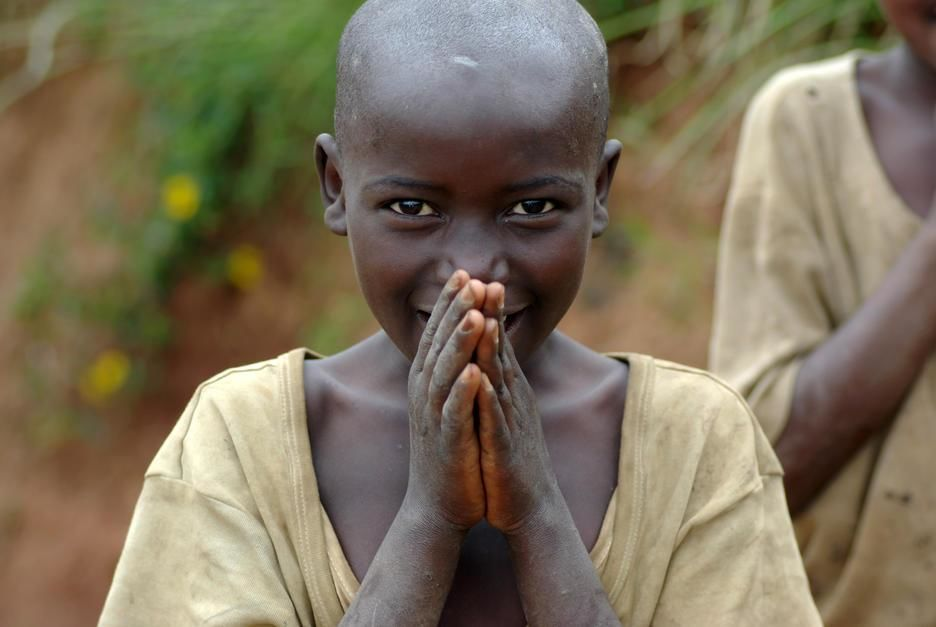 Portrait of a child. Rwanda. [Photo of the day - October 2011]