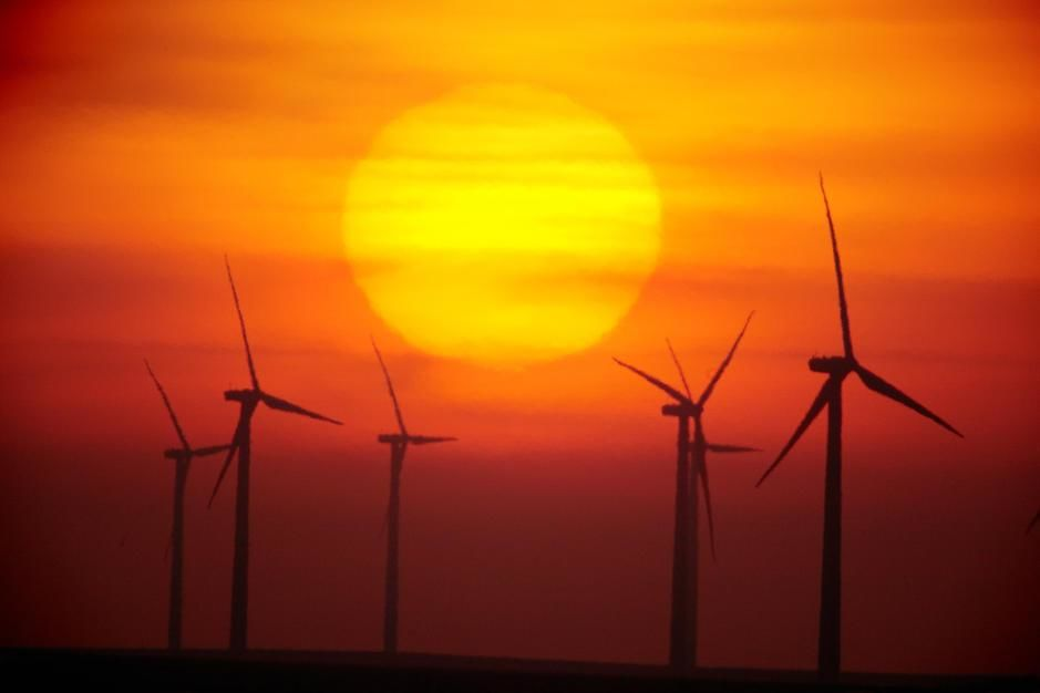 The Elk River Wind Project is a 150 megawatt wind energy project in Kansas. USA [Photo of the day - October 2011]