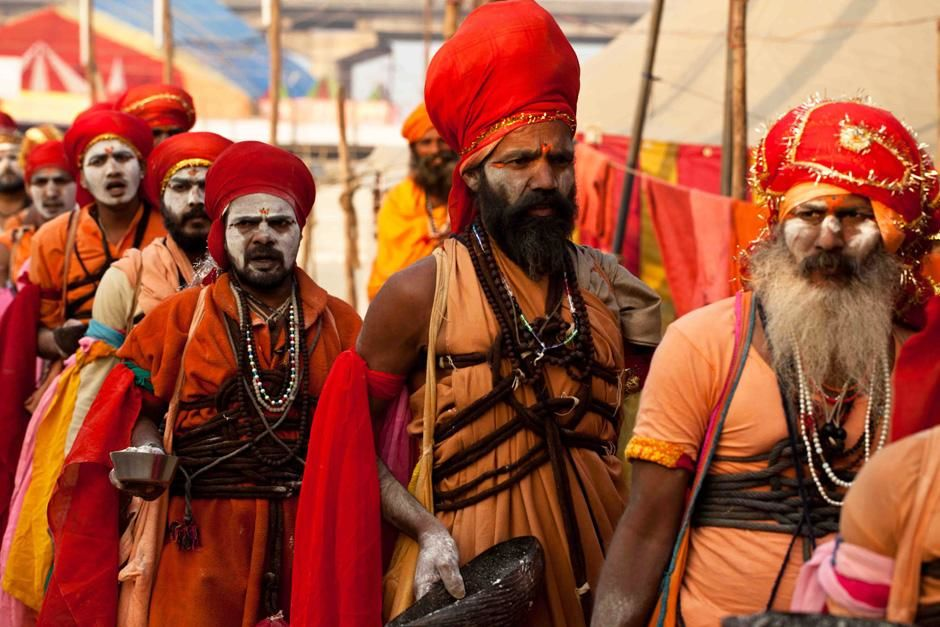 Once every 12 years Hindus from around the world converge at the Ganges for the full Kumbh Mela, ... [Photo of the day - March 2013]
