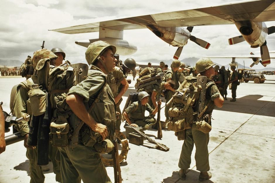 On this day in 1965 fifty thousand US troops were sent to Vietnam. Pictured, United States Marine... [Photo of the day - July, 2011]