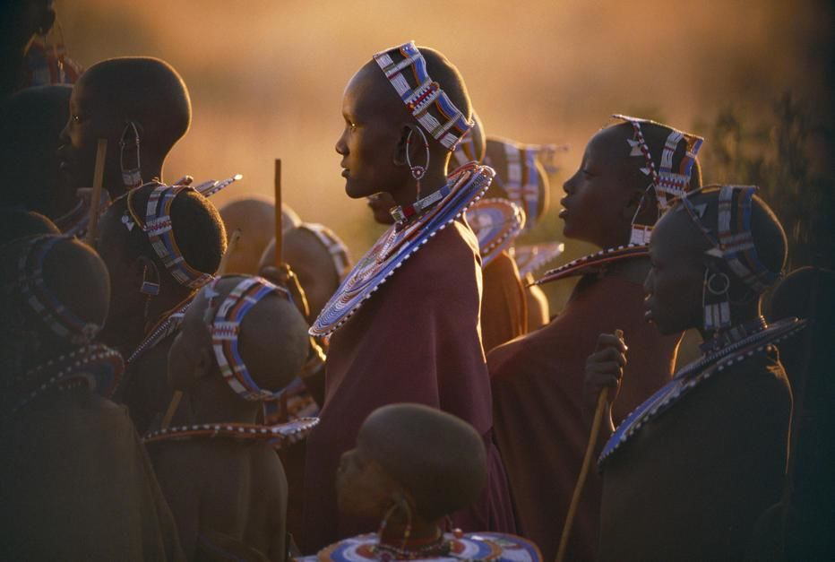 Despite government pressure to modernise, the proud, pastoral Masai cling to traditional dress an... [Foto del giorno - dicembre 2011]