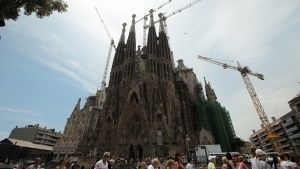 Barcelona, Spain: The Sagrada Familia (Nativity Façade).  This image is from Access 360°: Sagra... عکس روز - 12 دسامبر 2013