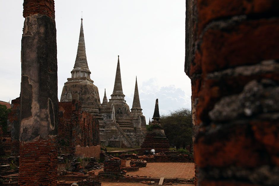 Ayutthaya, Thailand: The three main stupas at Phra Si Sanphet Temple located next to the Grand Pa... [Photo of the day - Март 2014]