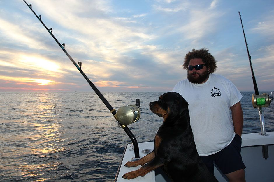 Gloucester, Massachusetts, USA: Captain TJ Ott and Reba on The Hot Tuna.This image is from... [Photo of the day - March 2014]