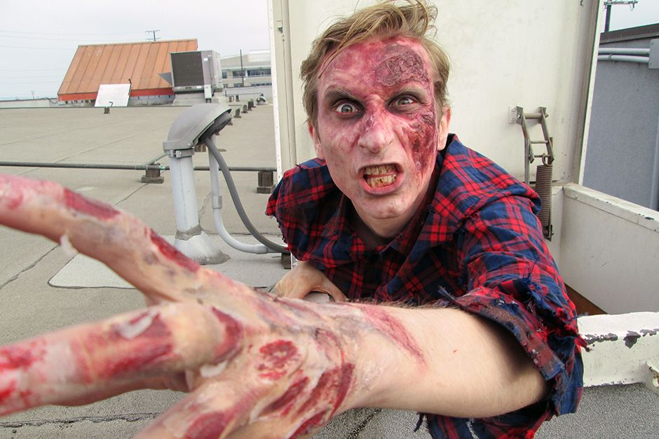 Los Angeles, CA, USA: Uh-oh!  Looks like Jake has been zombified! This image is from The Numbers... [Photo of the day - May 2014]