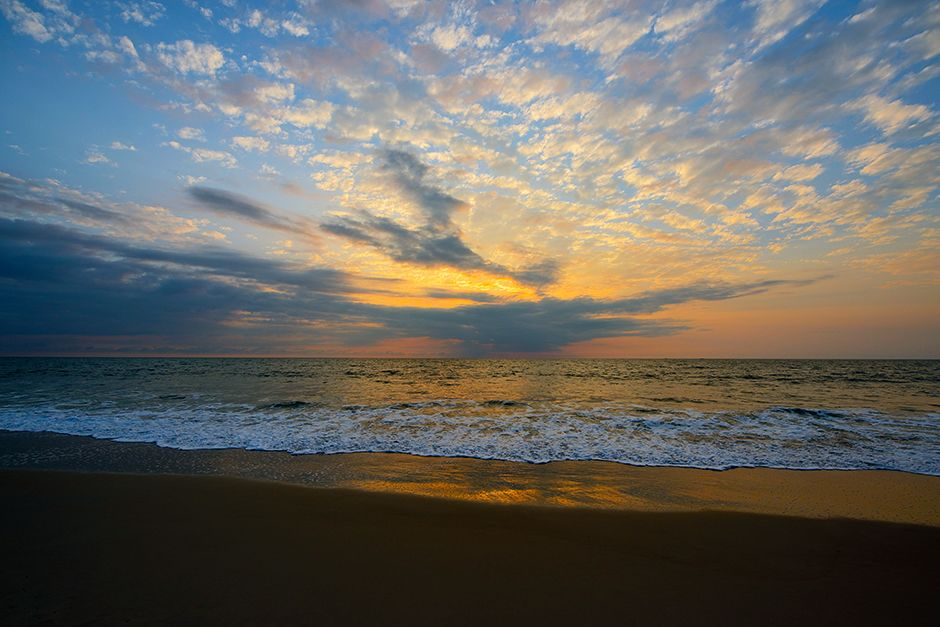 Gabon, Africa: Sunset over the Atlantic Ocean. This image is from Wild Gabon. [Photo of the day - June 2014]