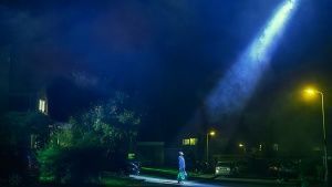 "A recreation from the episode ""Alien Invasion"". This image is from The Happenings. Photo of the day - 24 juli 2014"