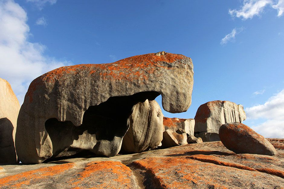Perched above the sea in Flinders Chase National Park, the impressive Remarkable Rocks form what ... [Photo of the day - August 2014]