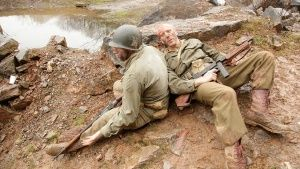 Reenactment: Lt Col James Rudder and ... [Photo of the day - AUGUST 25, 2014]