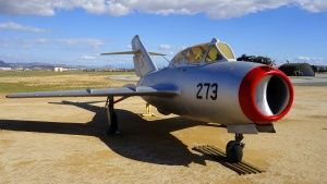 Riverside, California, USA: MiG-17 is... [Dagens foto -  1 OKTOBER 2014]