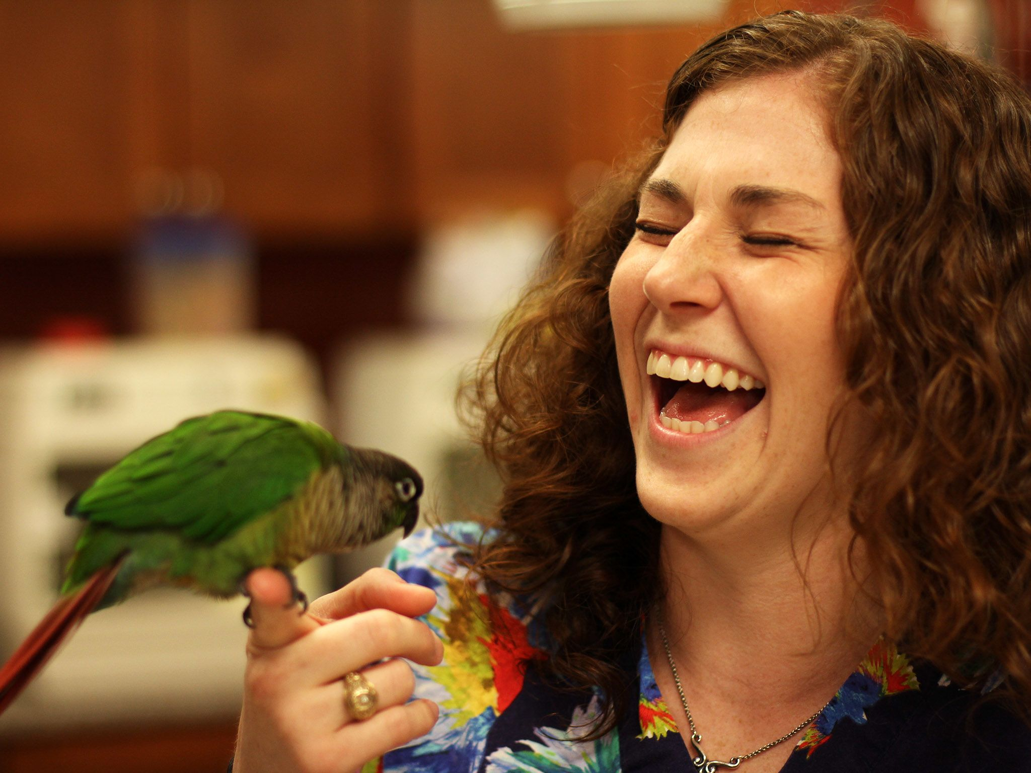 Dr. Lauren Thielen has always had an interest in exotic animals. She worked as a veterinary techn... [Photo of the day - October, 2014]