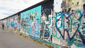 Berlin wall. This image is from Hasse... [Dagens foto -  1 NOVEMBER 2014]