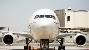Dubai Airport, UAE: Shot of a Boeing ... [Photo of the day - 16 דצמבר 2014]