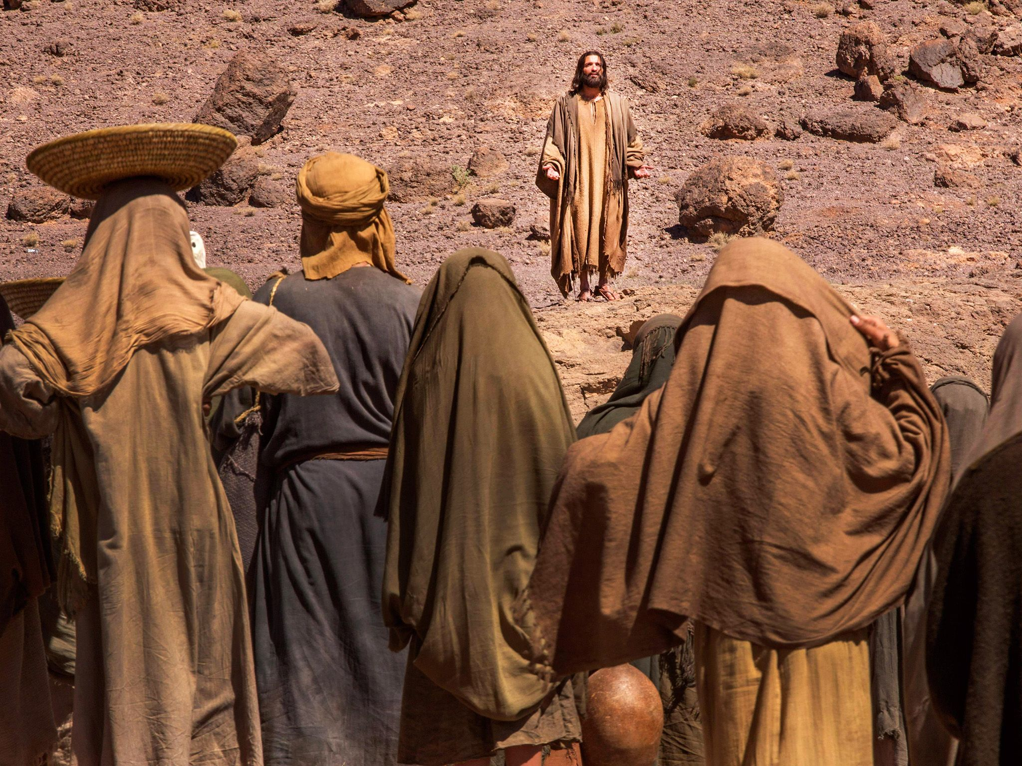 National Geographic Channel's Killing Jesus. This image is from Killing Jesus. [Photo of the day - March 2015]