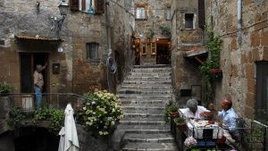 Pitigliano, Italy: Chef Domenico Pich... [Top-Fotos -  5. MAI 2015]