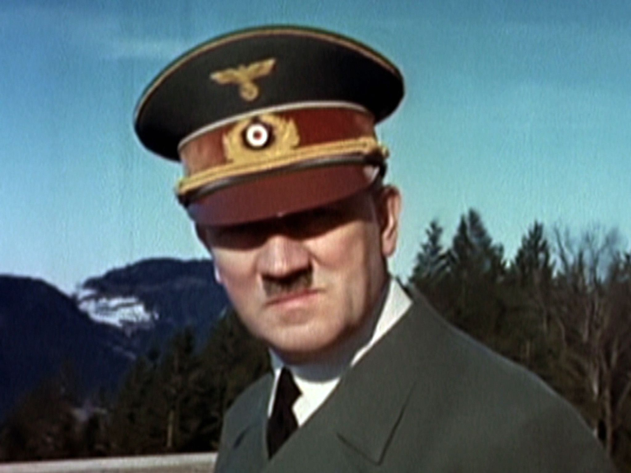 Berghof (Bavaria), Germany: An image of Adolf Hitler from a film of Eva Braun. This image is... [Photo of the day - 五月 2015]