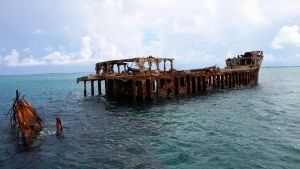 Bimini Island, The Bahamas: The wreck... [Photo of the day - 30 JUNI 2015]
