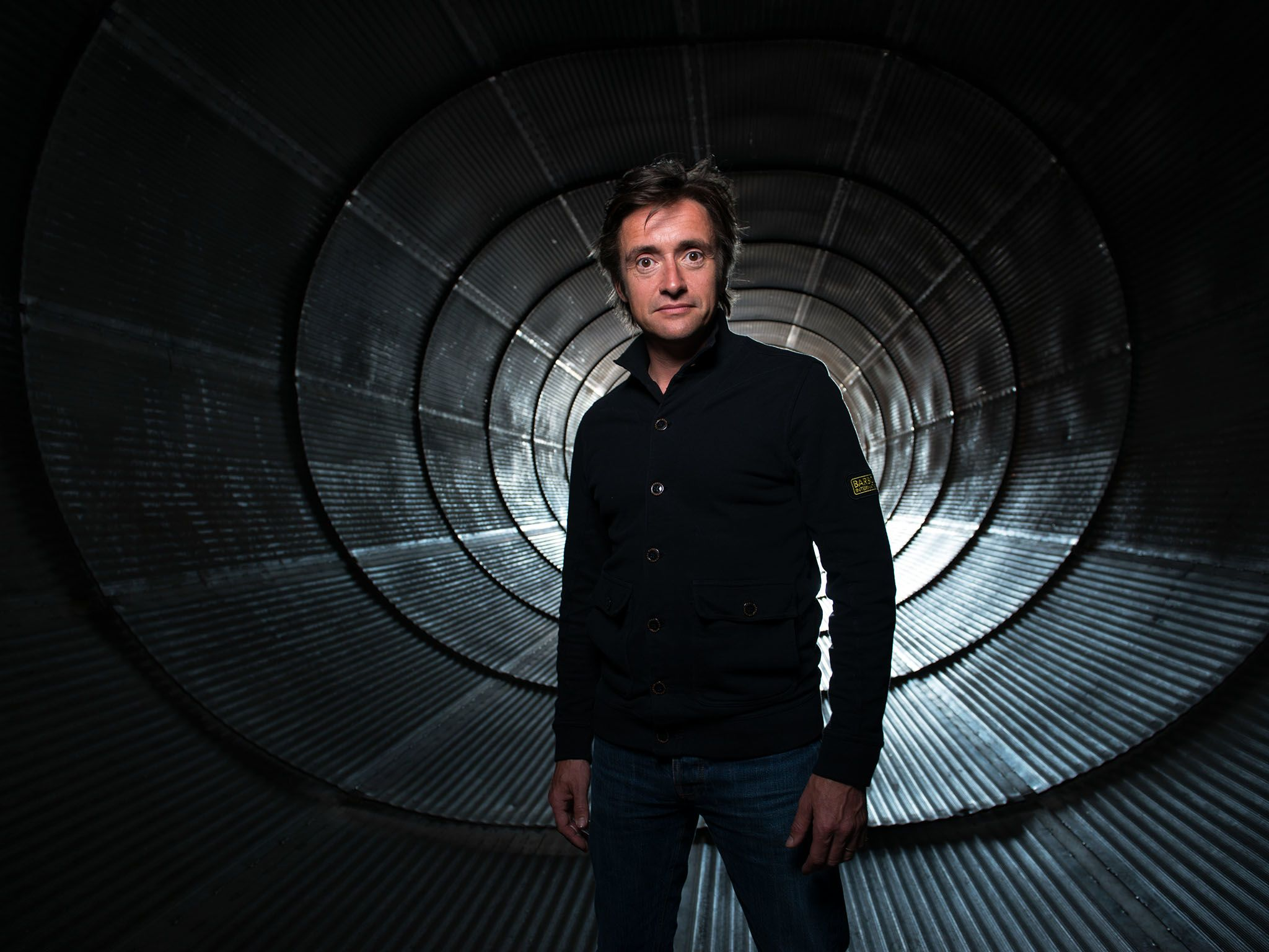 Host Richard Hammond. This image is from Richard Hammond's Wildest Weather. [Фото дня - Август 2015]