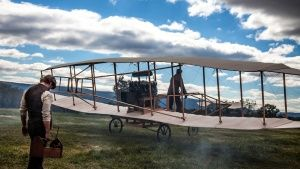 Reenactment- Glenn Curtiss prepares t... [Photo of the day - AUGUST 28, 2015]