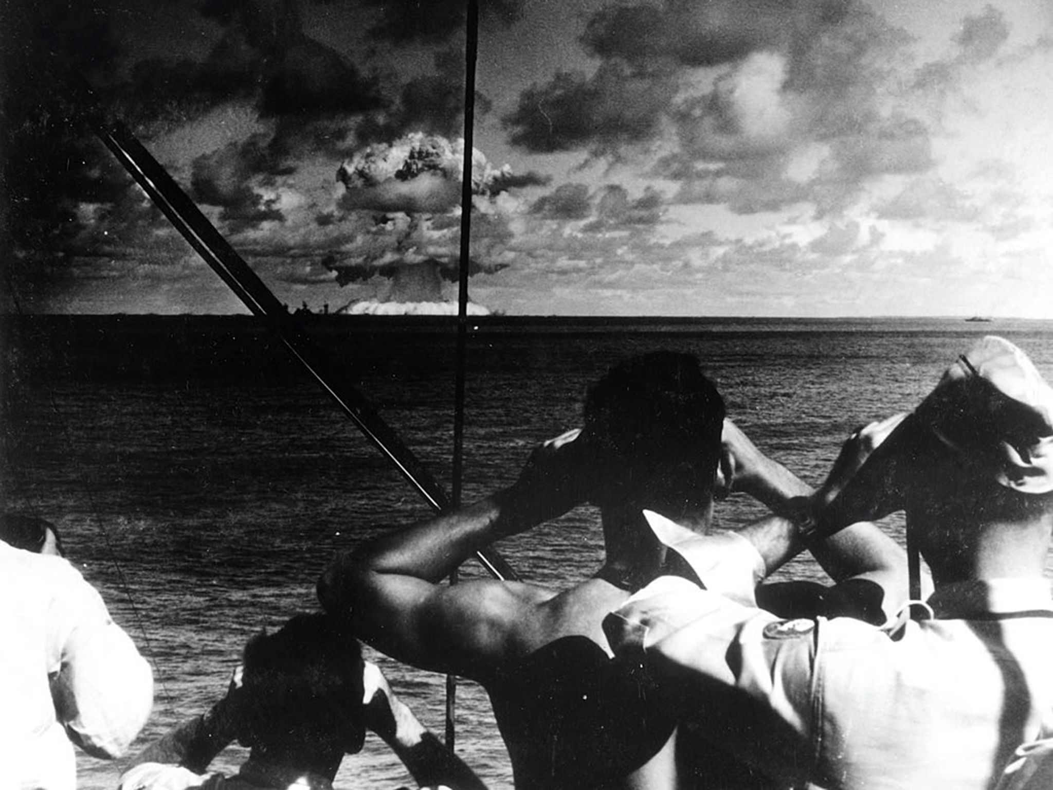 Bikini Atoll, Marshall Islands- In 1946 the US Army performed a series of atomic bomb tests... [Photo of the day - August 2015]