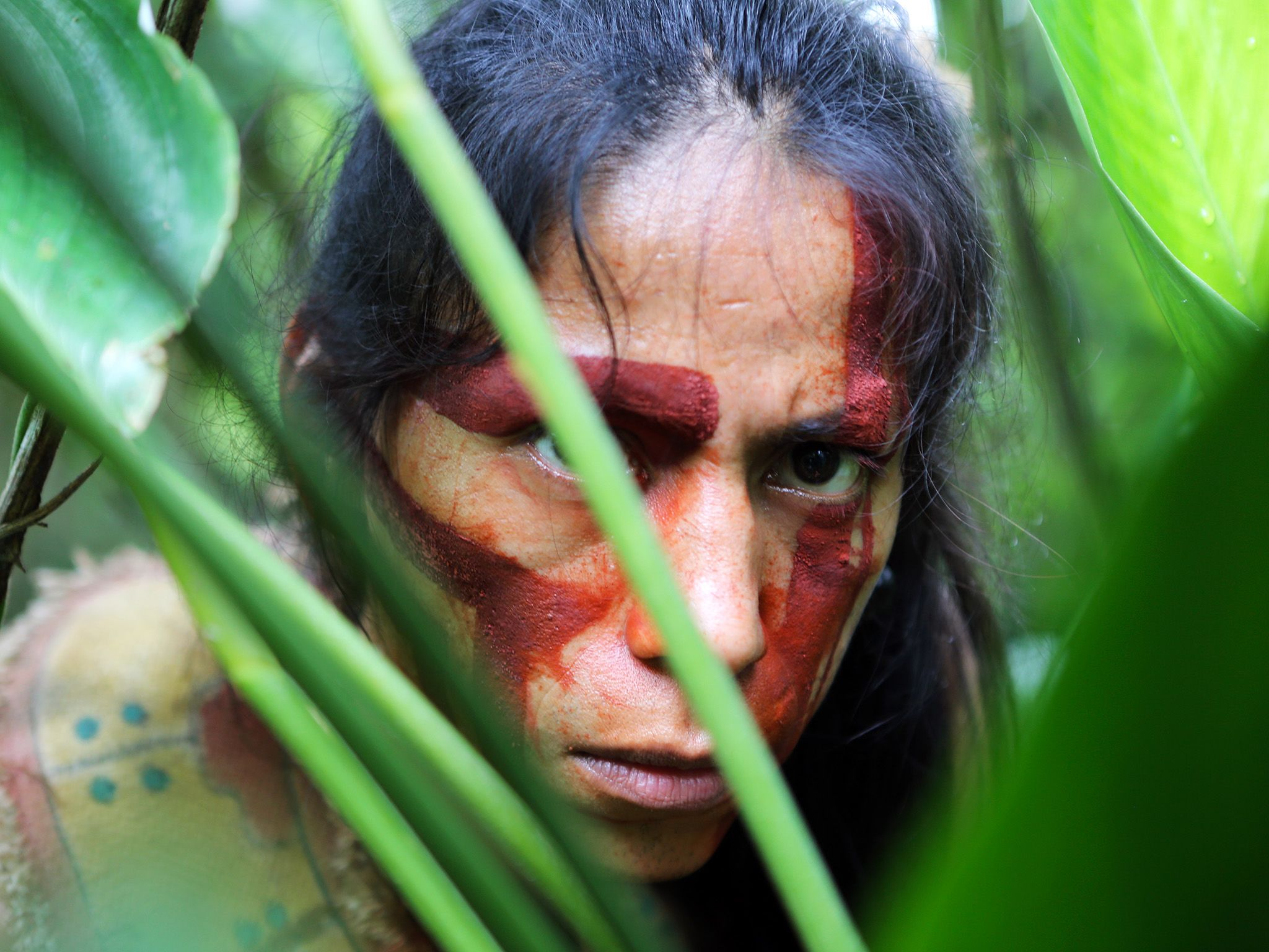 Dramatization: A mystery native person of La Mosquitia, Honduras. This image is from Legend of... [Photo of the day - October 2015]