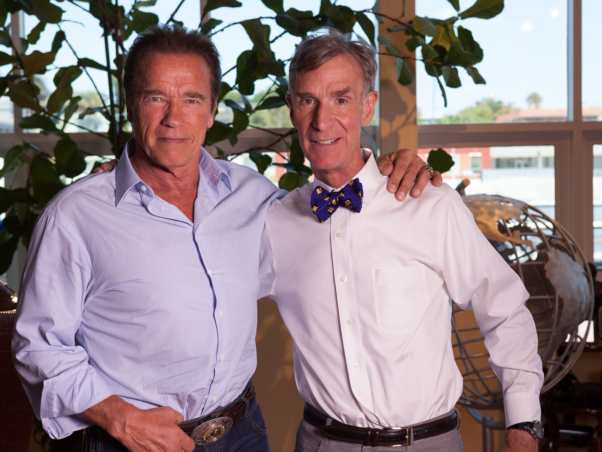 California: Hollywood action star and environmental advocate former California Gov. Arnold... [Photo of the day - November 2015]