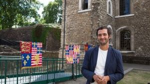 London: Host Jason Silva during a gam... [Photo of the day -  9 FEBRUARY 2016]
