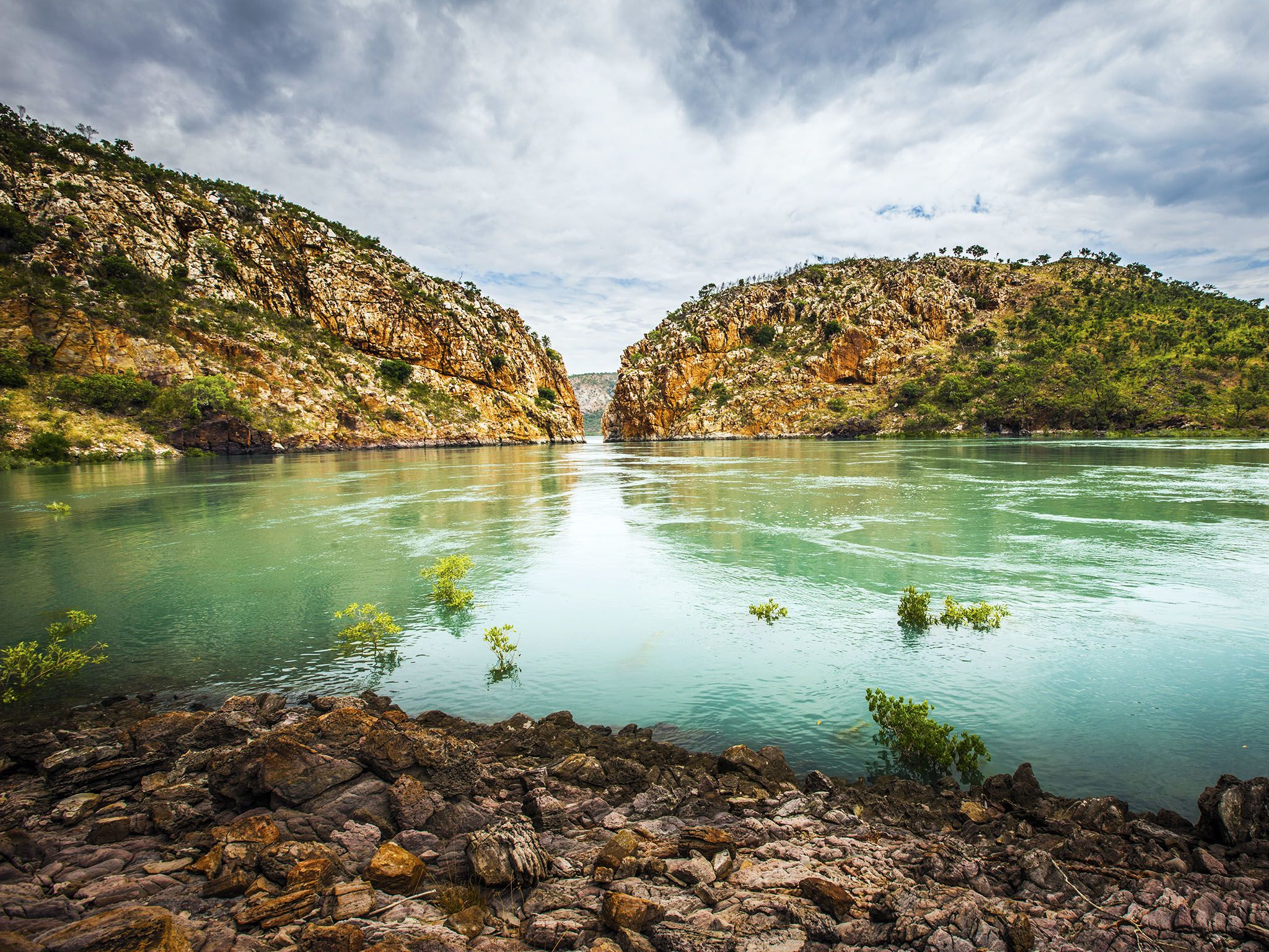 Kimberley, Australia: Landscape of Horizontal Falls, Talbot Bay. This image is from Secret Life... [Photo of the day - 三月 2016]