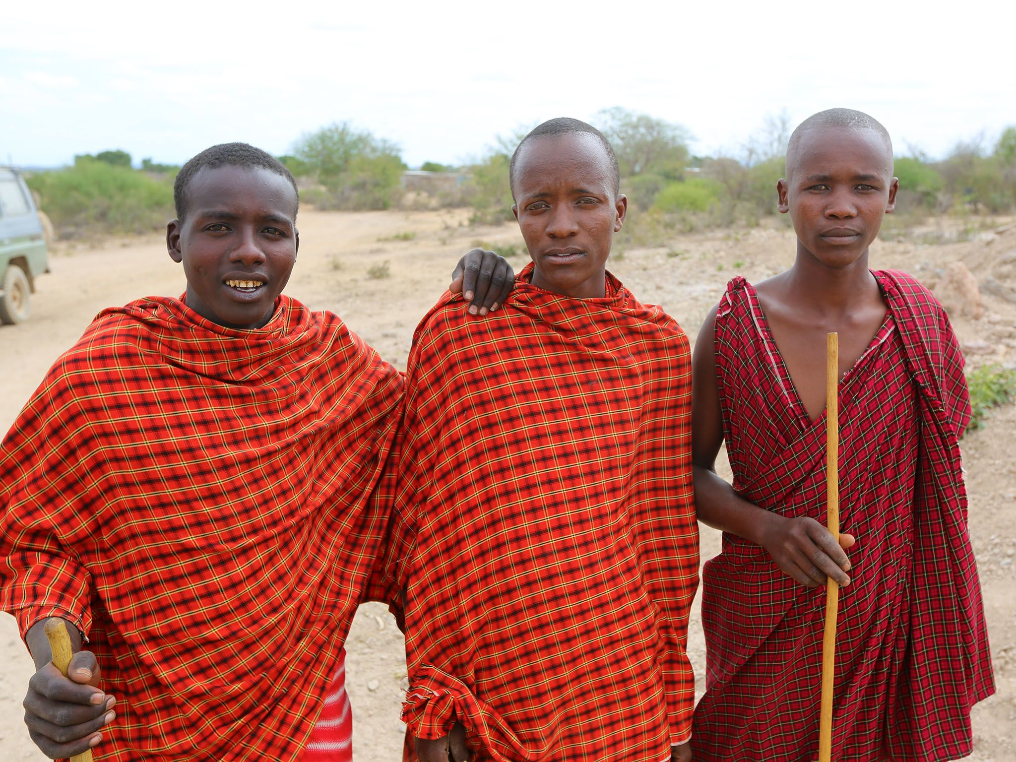 Arusha, Tanzania: Masai tribesmen. This image is from Mine Kings. [Photo of the day - March 2016]