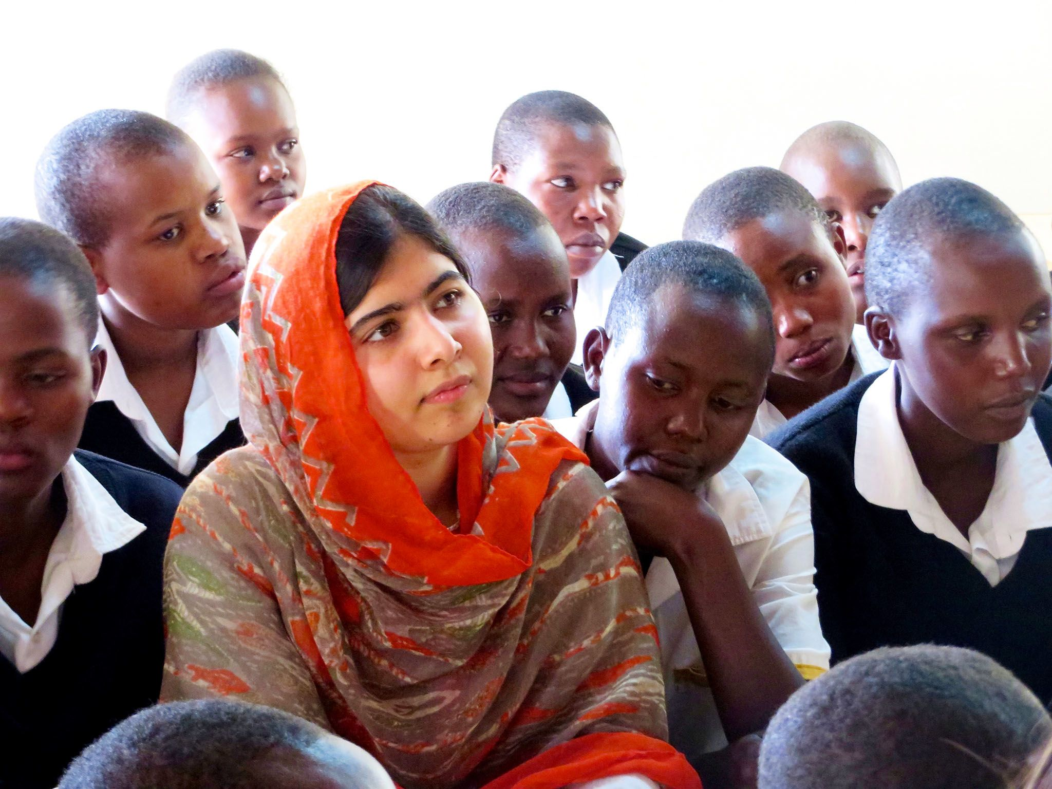 Malala Yousafzai. This image is from He Named Me Malala. [Photo of the day - March 2016]