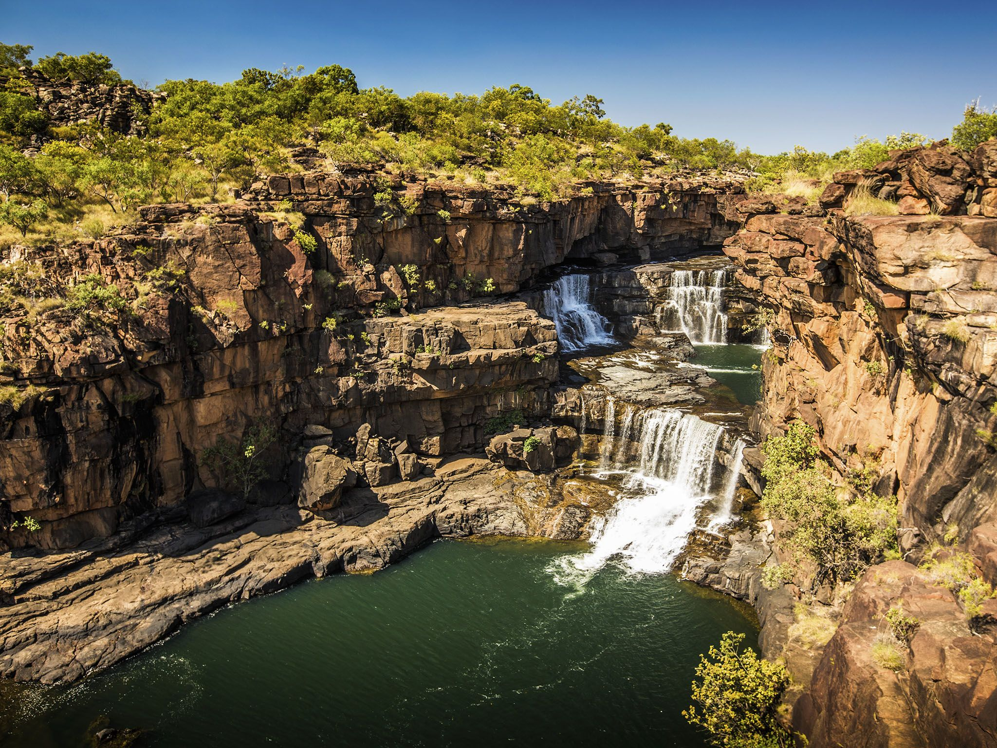 Kimberley, Australia: Mitchell Falls and Kimberley Landscape This image is from Secret Life of... [Photo of the day - 三月 2016]