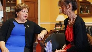Congresswoman Linda Sanchez and... [Фото дня -  2 МАЙ 2016]