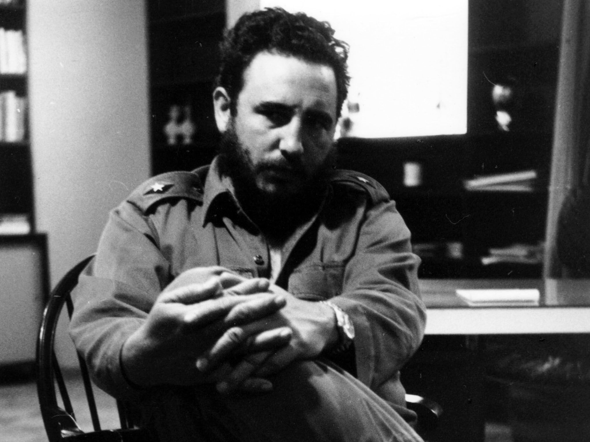 Havana, Cuba: Fidel Castro in May 1962. This image is from Fidel Castro: The Lost Tapes. [Photo of the day - ژوئن 2016]