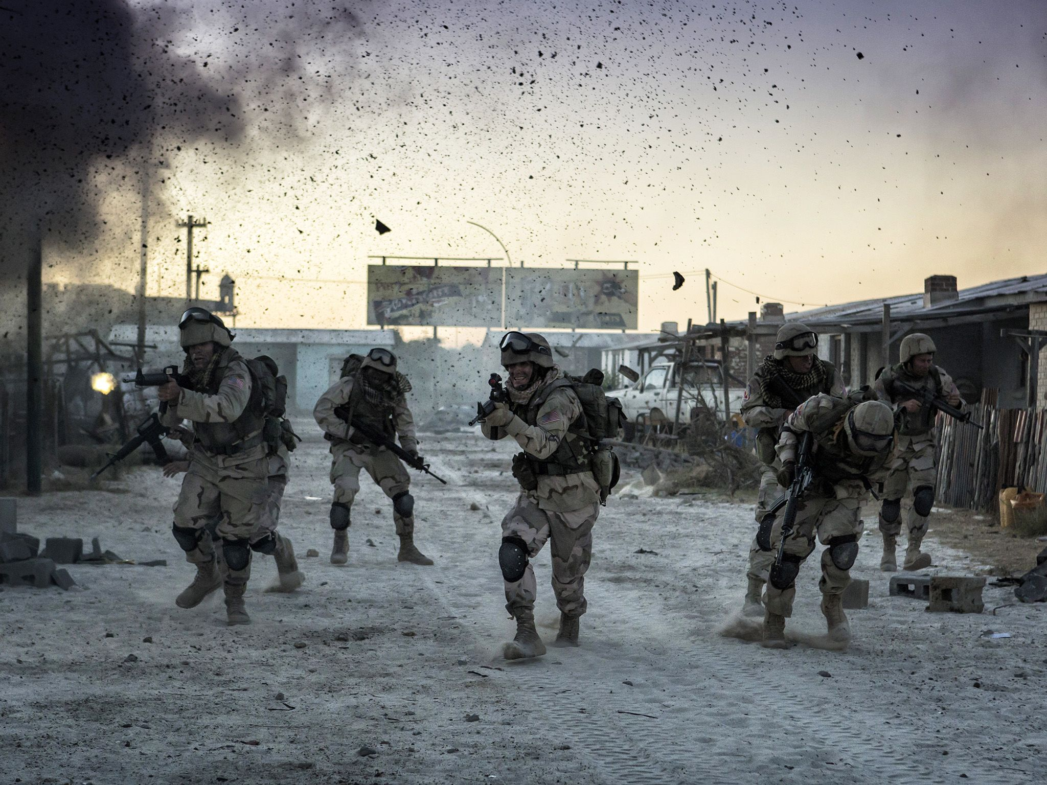 Cape Town, South Africa: Task force during battle. This image is from No Man Left Behind. [Photo of the day - July 2016]