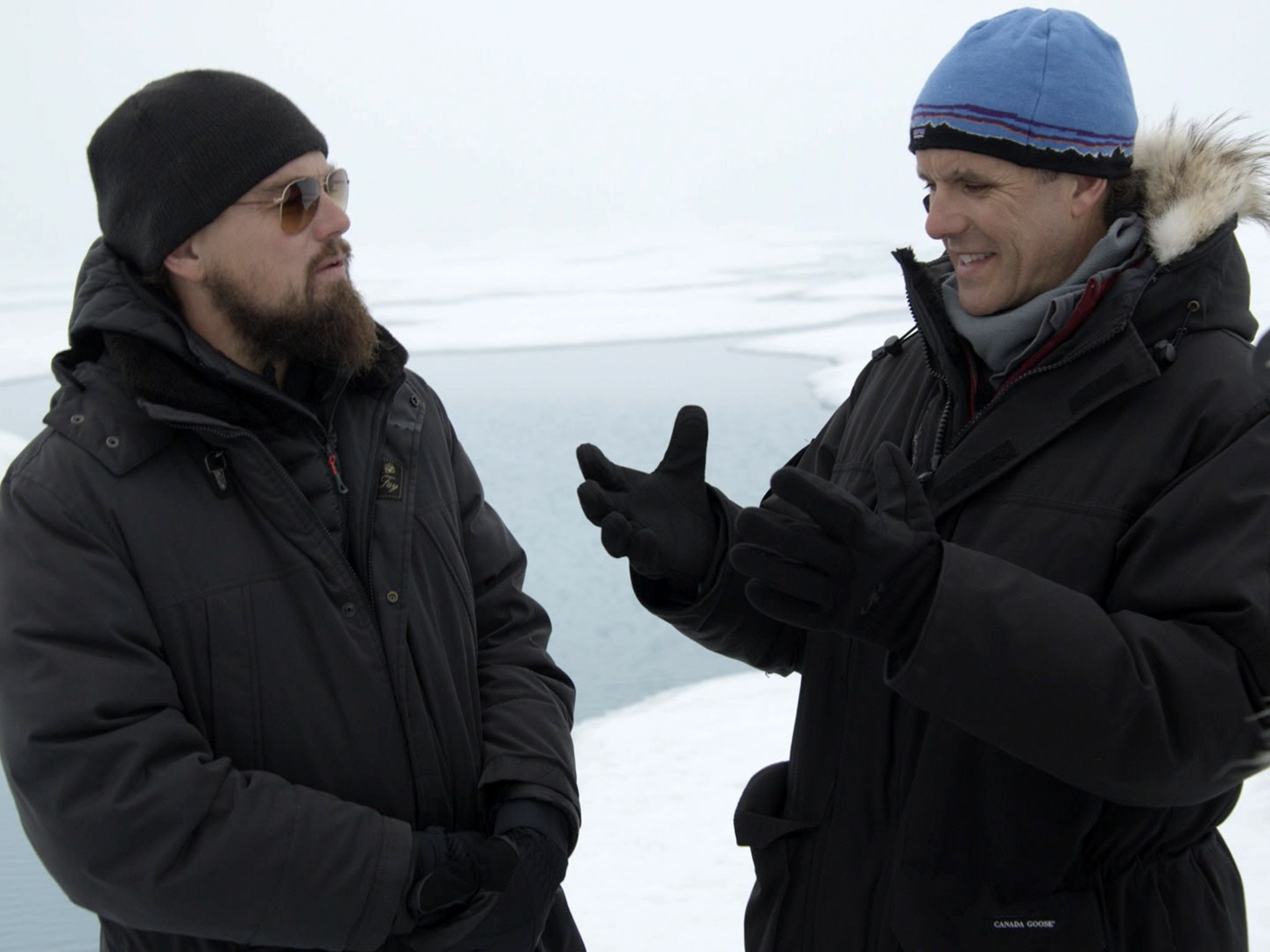In the Arctic: Leonardo Interview with Enric Sala about meltwater. For two years, Leonardo... [Photo of the day - October 2016]