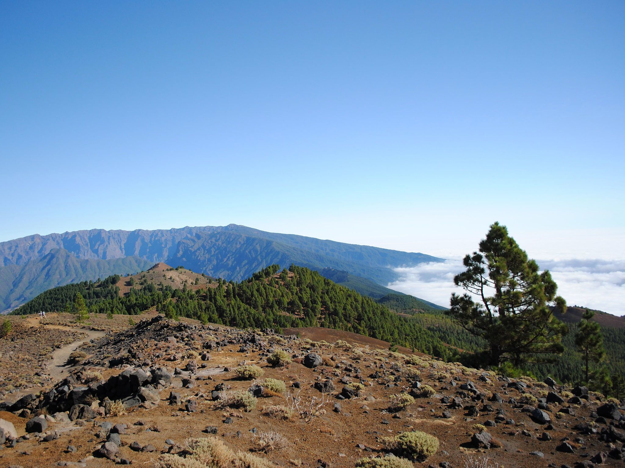 La Palma, Canary Islands, Spain: North facing view of La Palma island, from Cumbre Veija facing... [Photo of the day - 十月 2016]