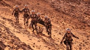 Reenactment: The crew on Mars. This... [Photo of the day -  7 DECEMBER 2016]